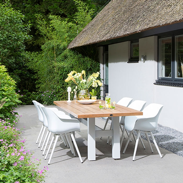 Hartman Sophie Studio wit   Dining tuinstoel
