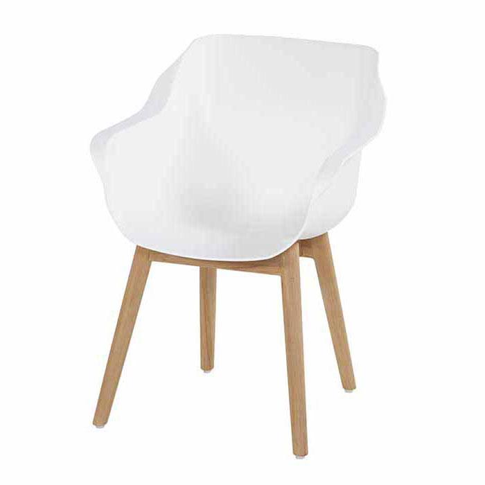 Hartman Sophie studio royal white-teak - Tuinstoel