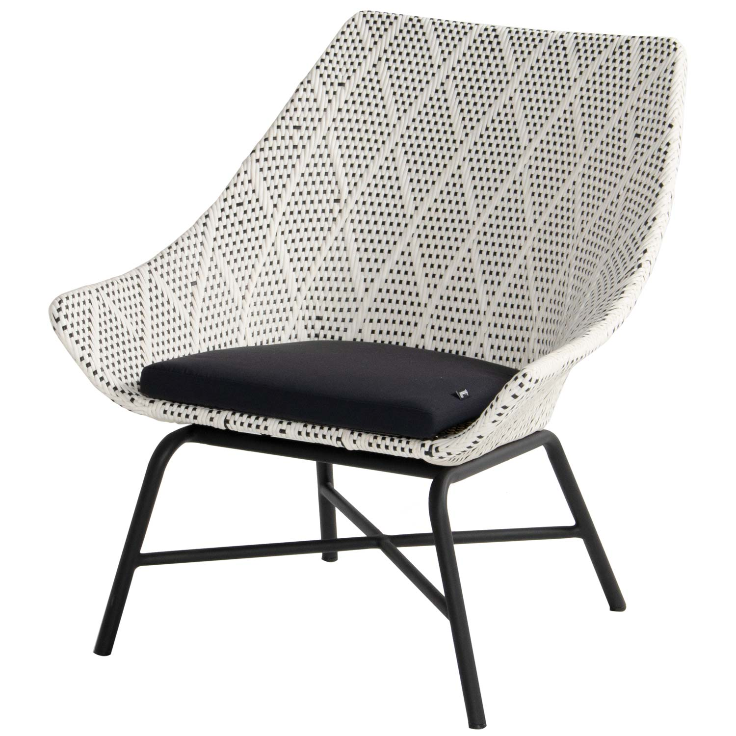 Hartman Delphine carbon black-diamond - Loungestoel