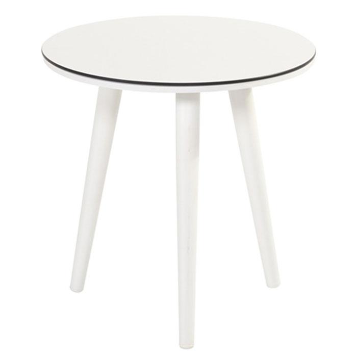 Hartman Sophie studio tafel white HPL-royal white Ø45cm (45cm hoog)