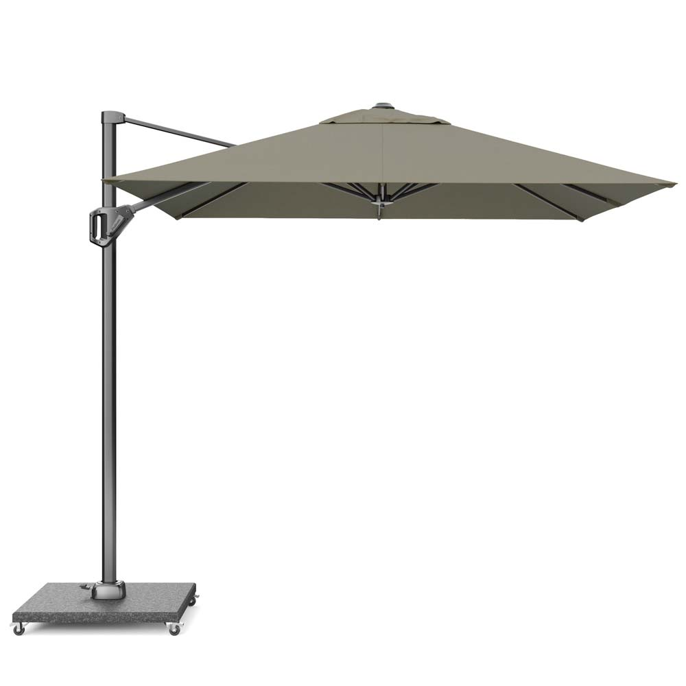 Zweefparasol Voyager T1 250x250 (Taupe)