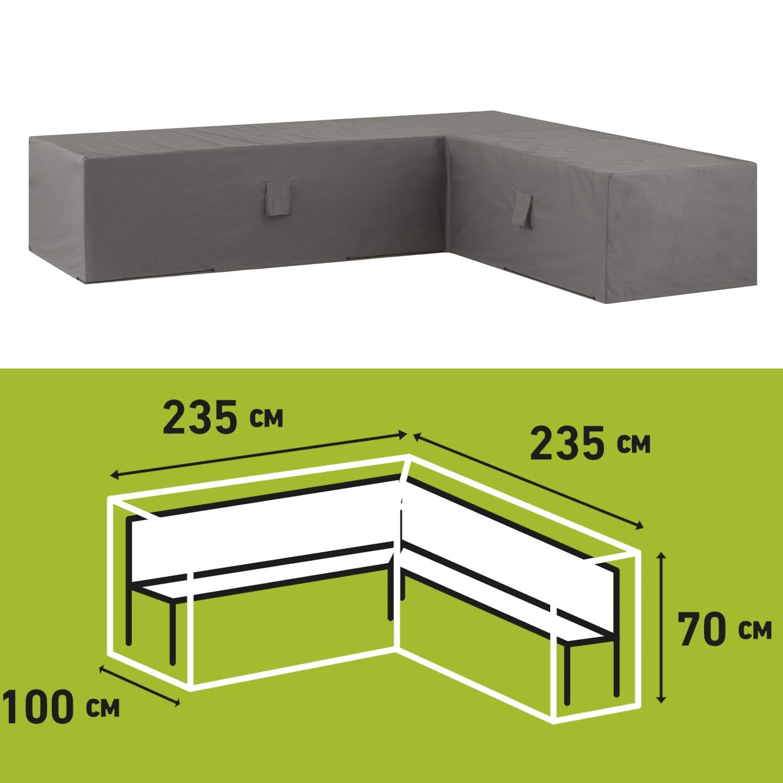 Loungesethoes 235x235xh70cm