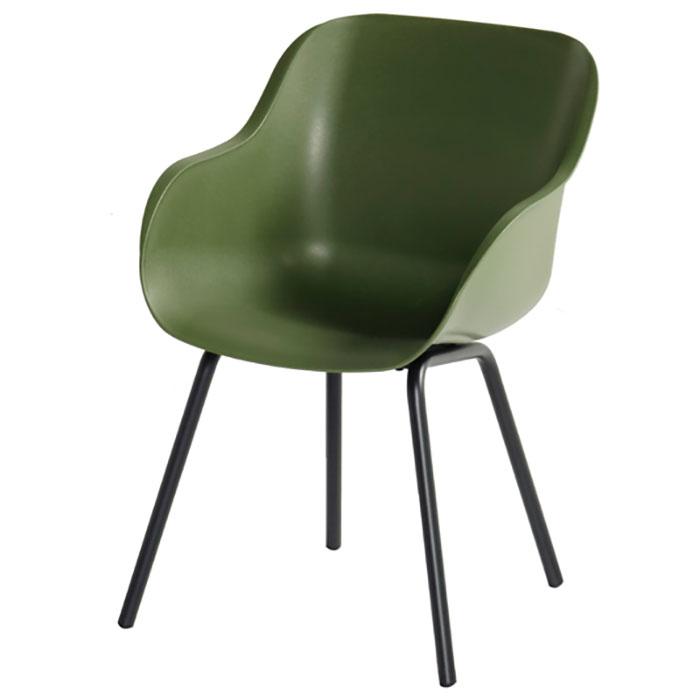 Hartman Sophie rondo moss green - Tuinstoel elegance