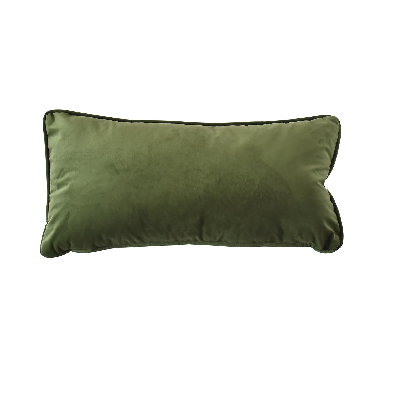 Sierkussen 60x30cm - Indoor London green
