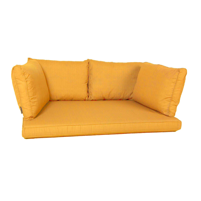 Palletkussen zit/arm/rug carré (120X80cm) - Panama golden glow