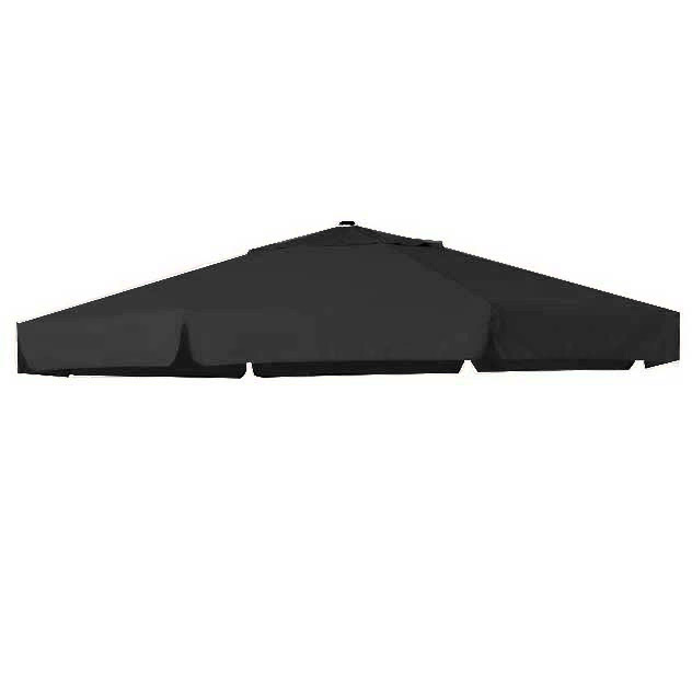 Zweefparasoldoek Hartman Reflexion en Scope zweefparasol 350cm rond grijs (polyester)
