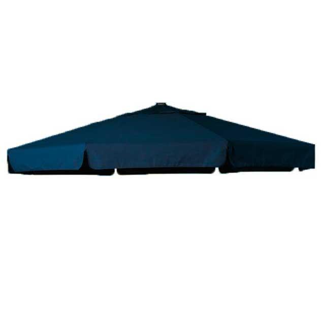Parasoldoek Hartman Reflexion en Scope zweefparasol 350cm rond marine blauw (polyester)