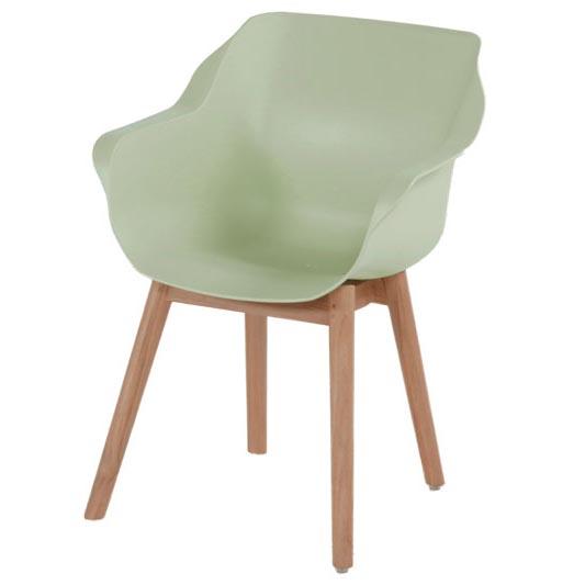 Hartman Sophie studio french green-teak - Tuinstoel