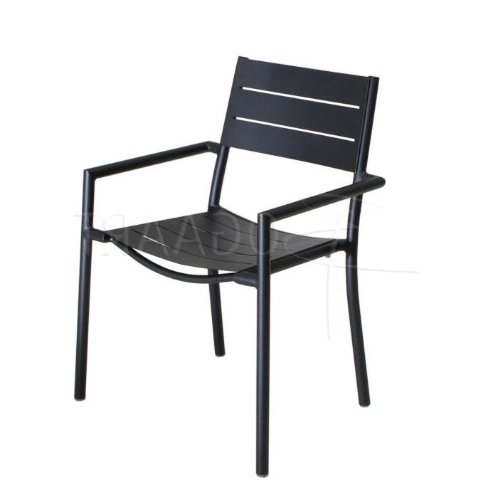 Hartman Beat zwart - stapelstoel (showroomaanbieding)