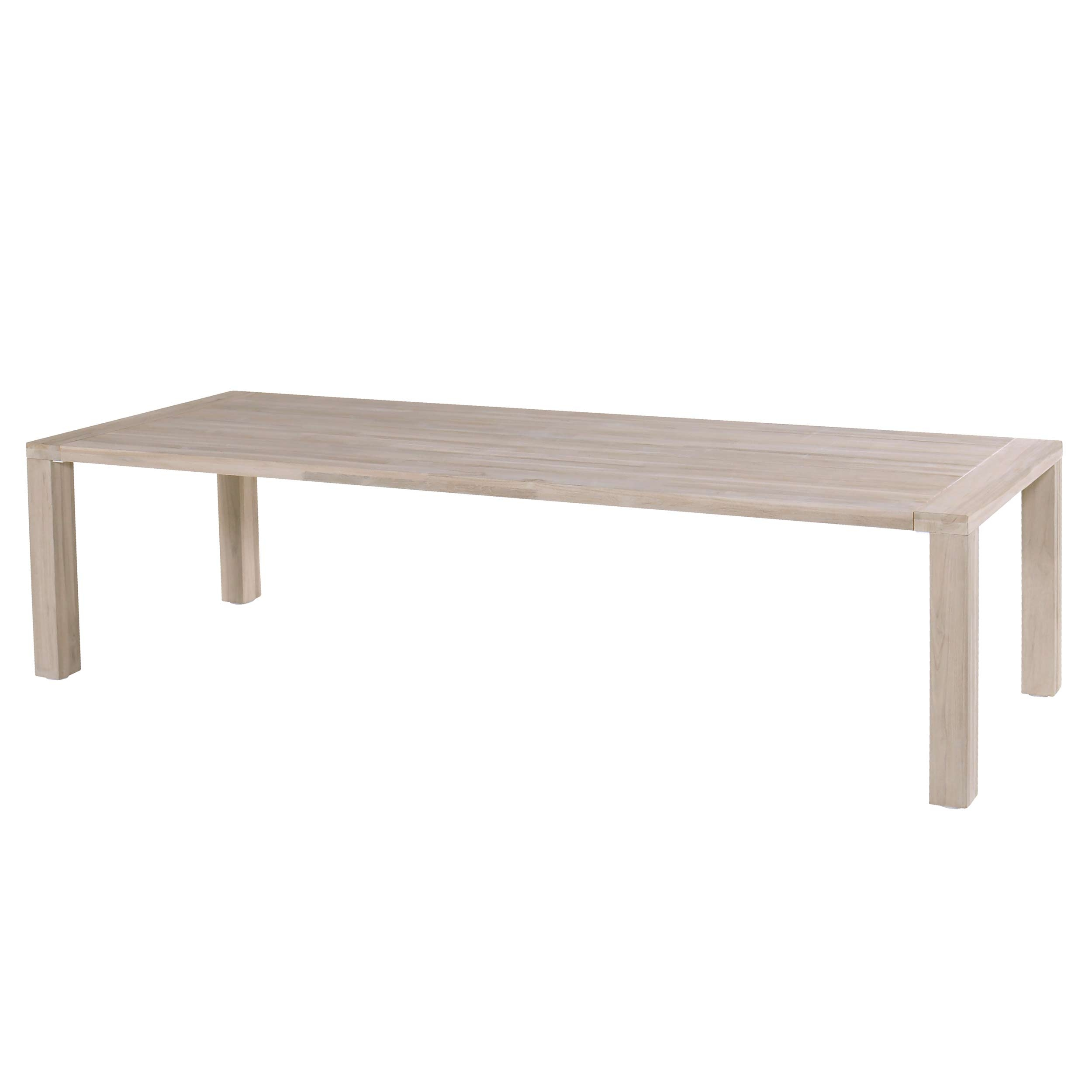 Hartman Sophie Element tafel light grey teak 300x100cm