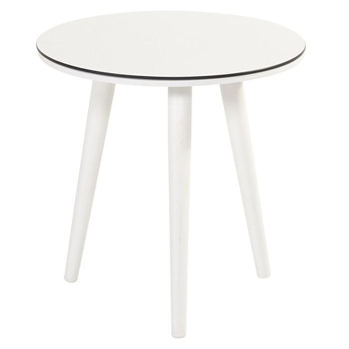 Hartman Sophie studio tafel white HPL-royal white Ø45cm (40cm hoog)
