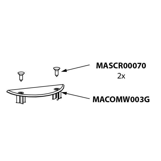 Onderdeel - Umbrosa Paraflex standaard bundel 17/30