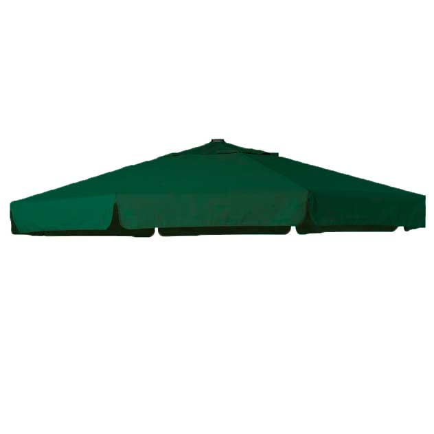 Parasoldoek Hartman Reflexion en Scope zweefparasol 320x320cm groen (polyester)