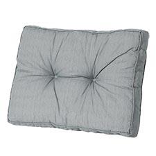 Loungekussen ruggedeelte 70x40cm - Basic grey