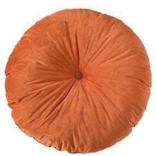 Sierkussen Ø75cm - Indoor London orange