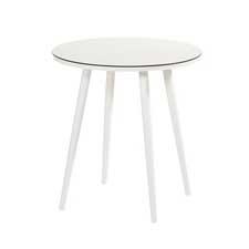 Hartman Sophie studio bistro tafel white HPL-royal white Ø66cm