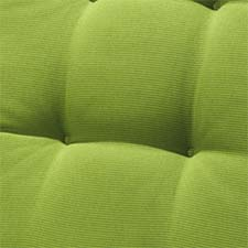 Zitkussen Wicker york - Rib lime