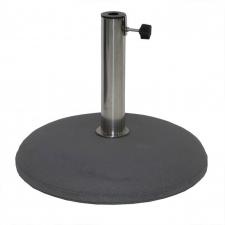 Parasolvoet beton 30kg rond