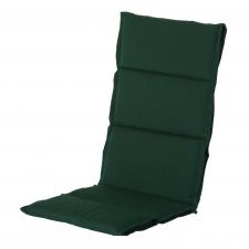 Textileenkussen hoge rug - Havana green