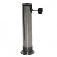 RVS buis voor granieten of betonnen parasolvoet