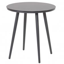 Hartman Sophie studio bistro tafel antracite HPL-xerix Ø66cm