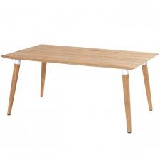 Hartman Sophie studio tafel teak-royal white 170x100cm