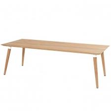 Hartman Sophie studio tafel teak-royal white 240x100
