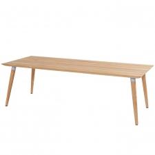 Hartman Sophie studio tafel teak-misty grey 240x100