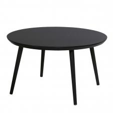 Hartman Sophie tafel studio black HPL-carbon black 128cm (showroommodel)