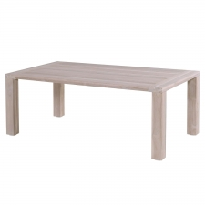 Hartman Sophie Element tafel light grey teak 180x100cm