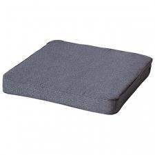 Loungekussen premium 60x60cm - Outdoor Manchester denim grey
