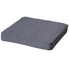 Loungekussen premium 73x73cm - Outdoor Manchester denim grey