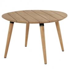 Hartman Sophie studio tafel (Teak-Carbon black) Ø120cm