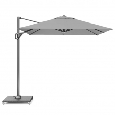 Zweefparasol Voyager T1 250x250 (Light grey)