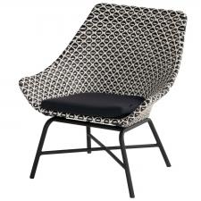 Hartman Delphine carbon white/black-carbon black - Loungestoel