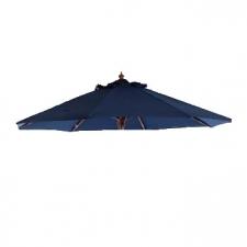 Parasoldoek Borek 150x200cm rechthoek blauw (olefin)