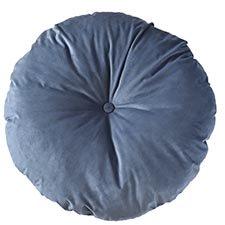 Sierkussen Ø75cm - Indoor London dark blue