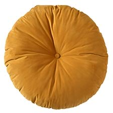 Sierkussen Ø75cm - Indoor London yellow