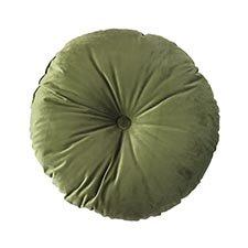Sierkussen Ø75cm - Indoor London green