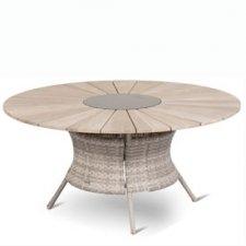 Hartman Provence tafel teak/wicker 150cm