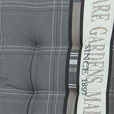 Tafelkleed 140x140cm -  Madison garden grey