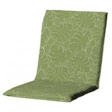 Tuinkussen lage rug universal - Outdoor Palm green